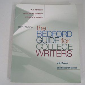 The Bedford Guide for College Writers 6th Edition